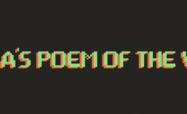 Read more poetry! Sonia's Poem of the Week sends you one good poem every Friday. Q&As with contemporary poets sometimes, sparkling commentary on why a poem is worth reading always. Join 1,500+ subscribers now.