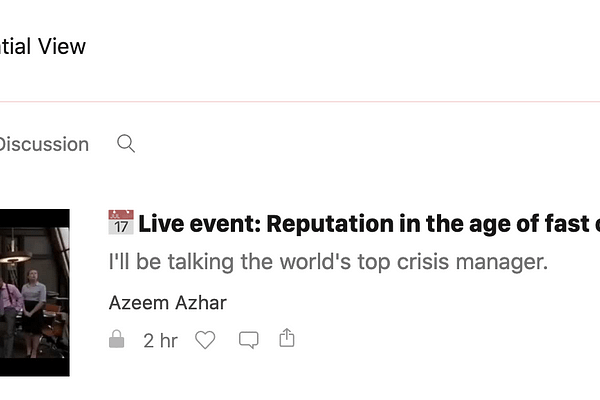 Get smarter about AI & the near future with Azeem Azhar's Exponential View