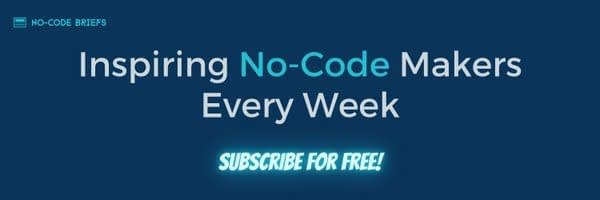 A hand-curated newsletter bringing you the latest happenings from the nocode universe.