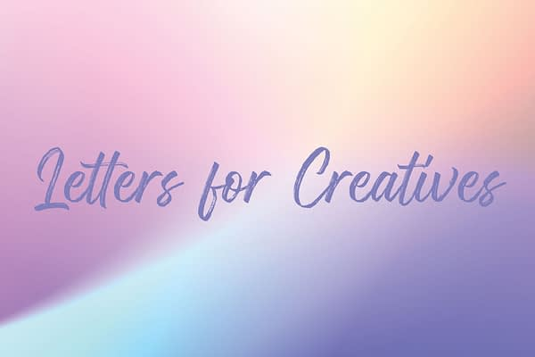 <!-- wp:paragraph --> <p>Letters for Creatives discusses around the topics of creativity, becoming a better writer, marketing and more. When you sign up, you will receive a poetry book, a Spotify playlist for writing and a chance to have your poetry featured in the future.</p> <!-- /wp:paragraph -->