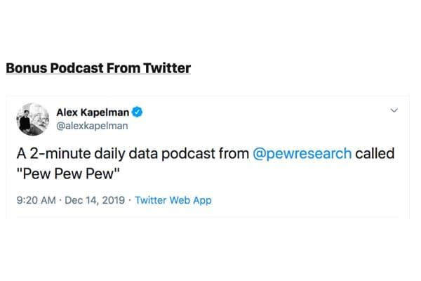 Every week, Rose Eveleth takes a half-baked podcast idea and give it a full pitch treatment. That's it. That's the whole newsletter.