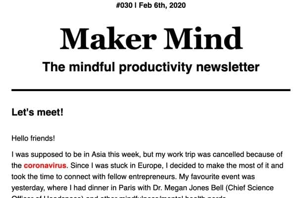 <p>A weekly newsletter that's all about productivity and creativity. All based on neuroscience, it provides tips to do your best work while keeping your sanity.</p>