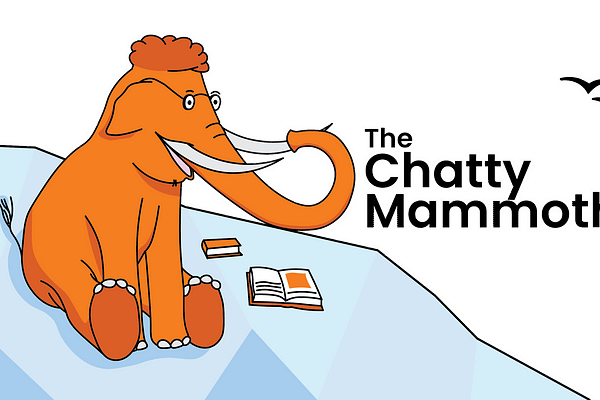 The Chatty Mammoth is made for those who appreciate the virtues of reading, but cannot fit enough of it in.  With 'time-poor' being an all too common trait of the general populace, its understandable if you are irritated at not being able to prioritise reading. The Chatty Mammoth is here to provide a remedy. As a team of practiced writers, we spend our hours searching for a diverse selection of cognitively satiating articles, located beyond the mainstream media; we then choose 3 standouts, and summarise them into daily 2 minute broadcasts.  We read the whole article, so that you can consume just the conversation-worthy components.
