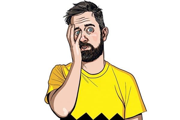 """You sit there at night, staring at the ceiling, wondering, """"What's Chip Zdarsky up to?"""""""