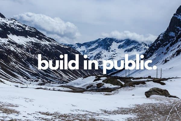 Build In Public is a weekly newsletter covering prolific creators who are taking an audience-first approach in building products with a healthy dose of tips, techniques and actionable advice that you can use.