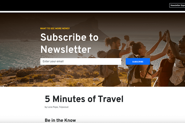 <p>Our team of editors find all the best travel stories from around the web and social media, which will keep you updated on all things travel in 5 minutes or less.</p>