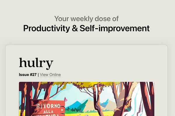 <p>Be 1% better every week by receiving hand-picked gold-standard apps, books and article recommendations in your inbox. It's free.</p>
