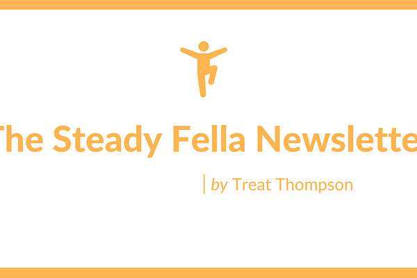 """<p>The Steady Fella Newsletter is for those who want to grow.</p> <p>Build towards the life you want with timeless insights on passion, productivity, philosophy, and happiness.</p> <p>When you join The Steady Fella Newsletter, twice a month you'll learn a lesson on the art of living.</p> <p>It starts with a dissection of a concept or idea. Like choosing failure over regret or the science behind controlling our motivation.</p> <p>It ends with an eye-opening quote of the week. Like this one: """"The privilege of a lifetime is to become who you truly are."""" – Carl Jung</p>"""