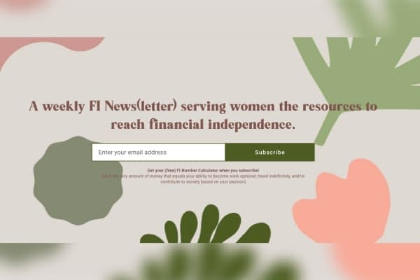Getting women financially independent.