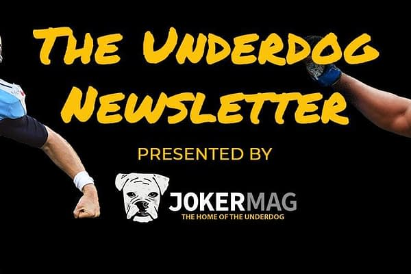 Get a bite-sized rundown of the best underdog stories in the sports universe – delivered every Tuesday.