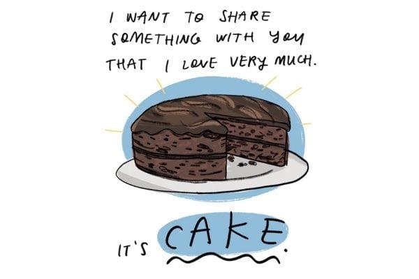 illustrated musings on food and feelings