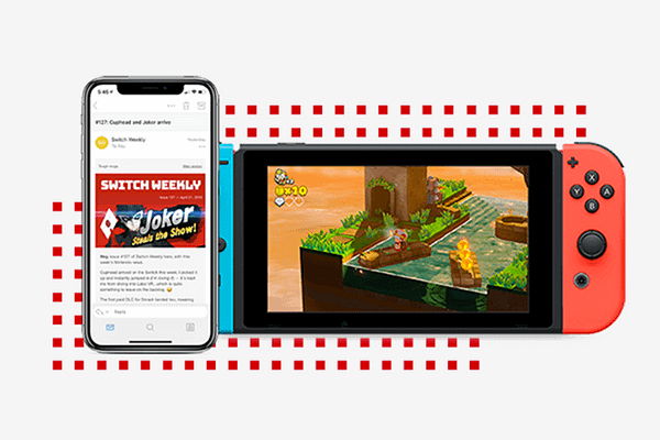 Stay in the know on all things Switch. A no-noise email roundup of all the must read Nintendo news every Sunday.