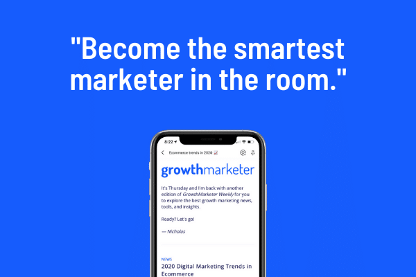 Get the weekly email that makes marketing actually enjoyable. Stay informed on the latest news, tools, and insights, for free.