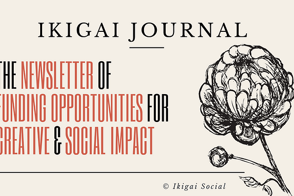 <p>The Newsletter of Funding Opportunities for Creative & Social Impact</p>